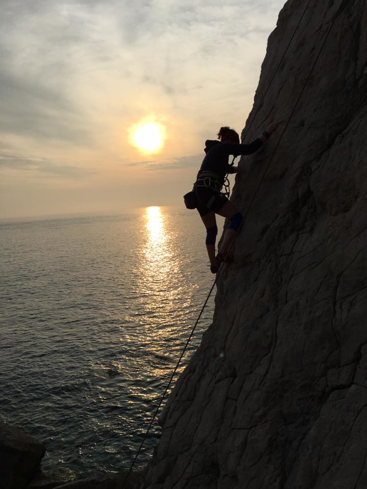 Climb out of PhD Anxiety – Literally
